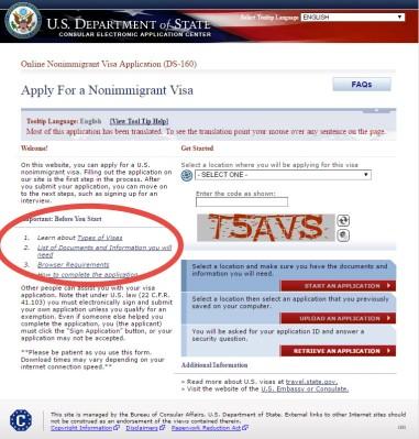 syarat-syarat mengajukan visa amerika serikat