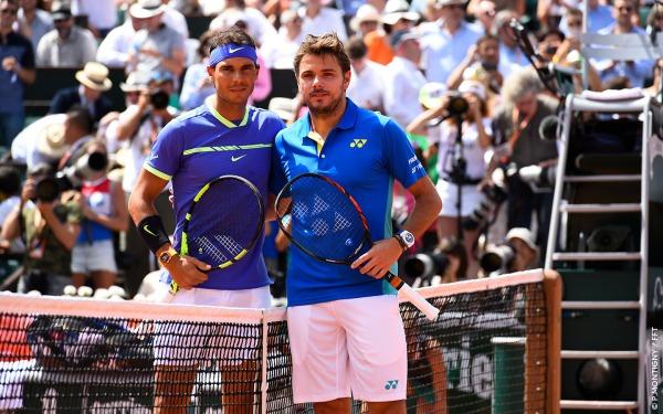 Rafael Nadal dan Stan Wawrinka - Roland Garros 2017 - Wira Asmo