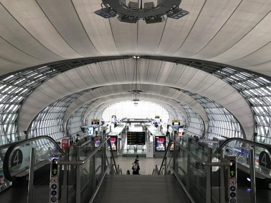 Bandara Suvarnabhumi - Destinasi Wisata di Bangkok Wira Asmo