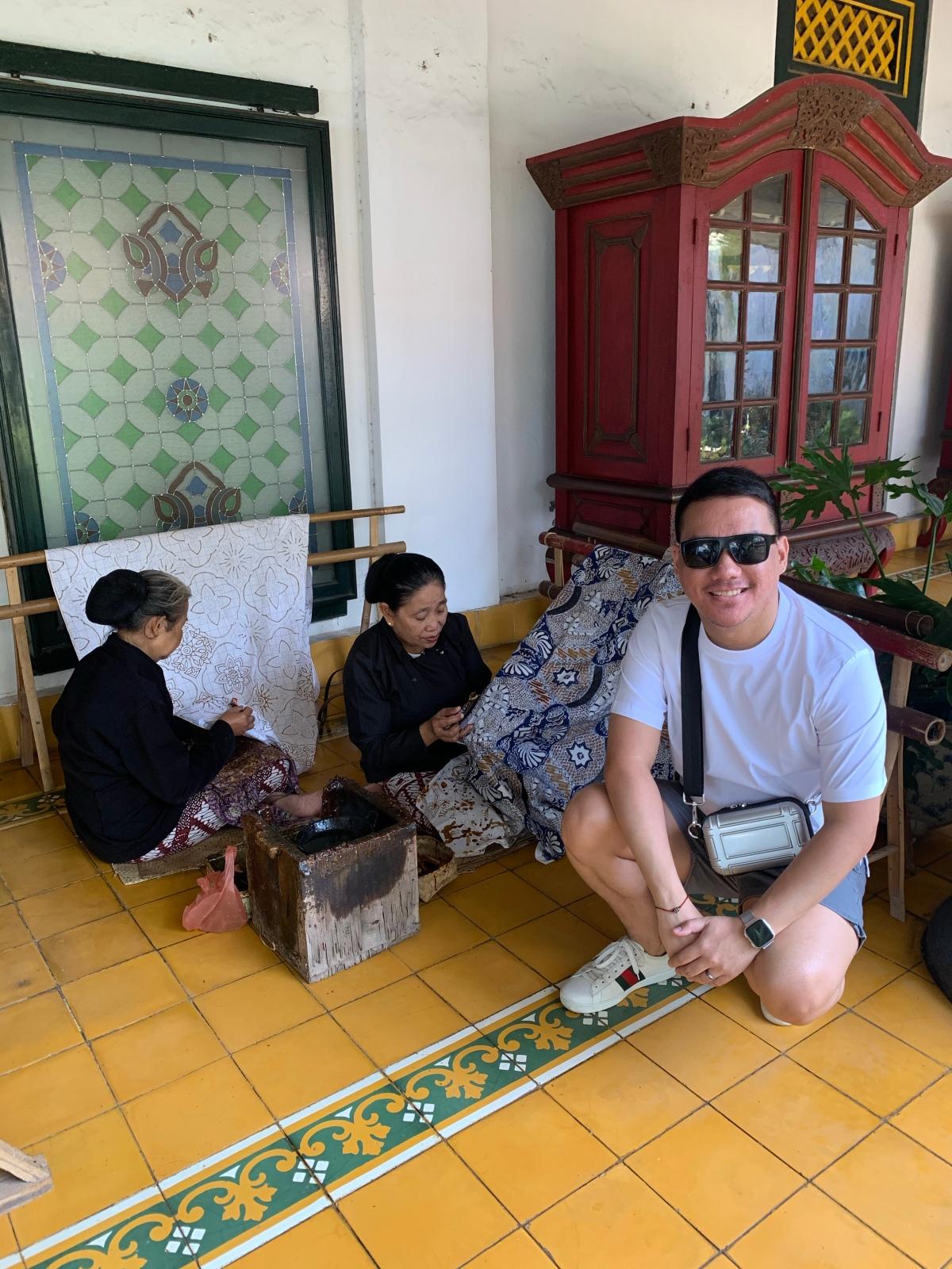 Hello, It's me Tristan in Yogyakarta